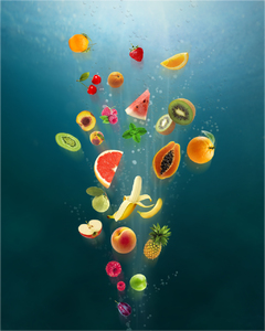 fresh: fresh, fruit, summer, explosion, healthy, fruit