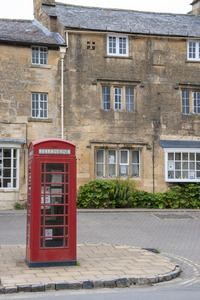 Red English Telephone Box