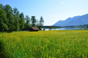 hiking around the Geroldsee