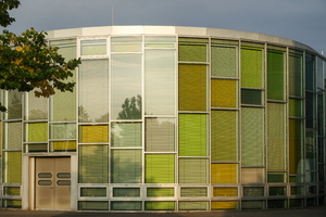 colourful blinds architecture: colourful blinds architecture