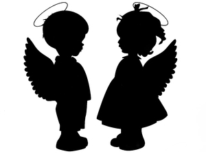 a pair of angels