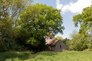 Old church: An old rural church in Hampshire, England.
