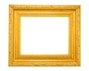 Bright Gold Frame