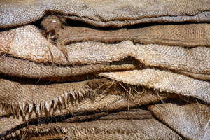 Sacks: Dirty sack texture