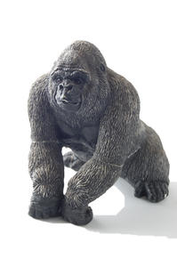 Gorilla: An old battered ornamental gorillaPlease let me know if you are using this image. A comment will suffice.
