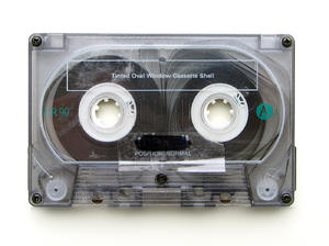 music cassette: to celebrate and memorize the end of the music cassette, I published this picture