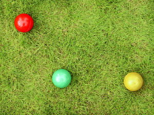 balls: colored balls