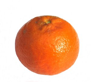 one tangerine: none
