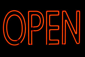 OPEN!: Neon open sign at a bar in TorontoPlease let me know if you are able to use my pictures for something.Even if it's something small --I would be absolutely thrilled to know if they came in useful for anyone!