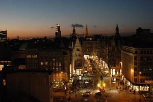 Antwerp(en) -BE- at night # 2.