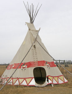 Teepee 1: Prairie housing.