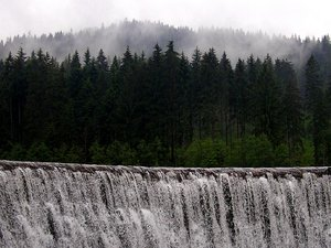 Waterfall in Wisla: A Wisla Waterfall.Please mail me or comment this photo if you liked or used it. Thanks for letting me know!I would be happy to receive the information about picture usage. I would be extremely happy to see the final work even if you think it is nothing sp