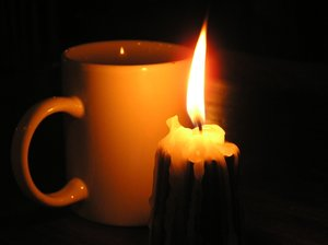 Warm cup of tea: A candle and the cup. Please mail me if you have used my photo. Let me know.I would be extremely happy to see the final work even if you think it is nothing special! For me it is (and for my portfolio)!