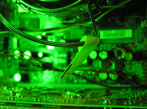 Inside a PC: Inside a home personal computer!Please mail me if you found it useful. Just to let me know!I would be extremely happy to see the final work even if you think it is nothing special! For me it is (and for my portfolio)!