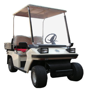 Golf cart: A golf cart, Polish one. Electric engine.Please comment this shot or mail me if you found it useful. Just to let me know!I would be extremely happy to see the final work even if you think it is nothing special! For me it is (and for my portfolio)!