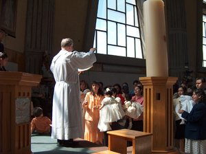 Church scenes 1: Different catholic ceremony moments