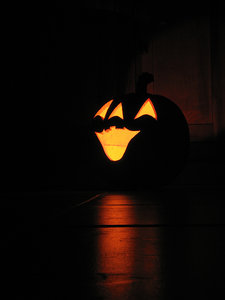 Halloween illuminated Pumpkin