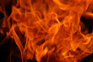 Fire: Closeup of fire