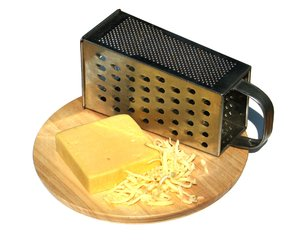 grated cheese 1: none