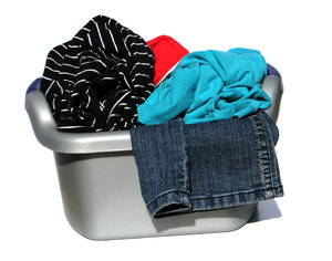 dirty laundry: none
