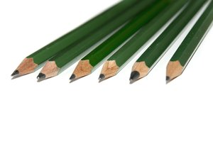 Pencils: Green Graphite Pencils
