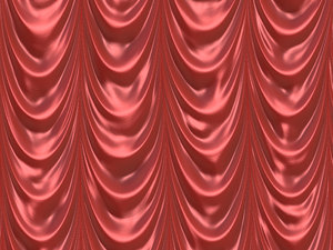 Draped Curtain 1