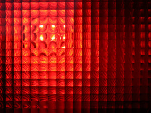 red light: brake light