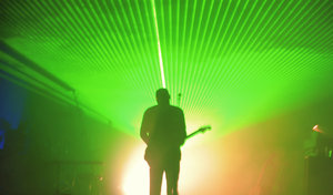 Guitar Light: Guitarist in Concert