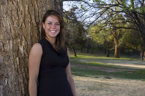 Little Black Dress 39: Amy at the park in a little black dress