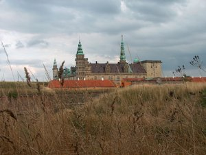Kronborg Castle and fortress 1: Danish castle Kronborg in Helsingør, object from UNESCO list