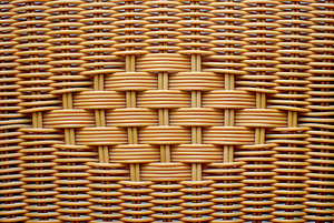 Wattle texture 2: Pattern with wicker pleat