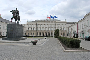 Seat of president of Poland: President's of Poland palace, Warsaw