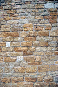 Medieval stone wall texture 2: Stone wall from middle ages, pattern