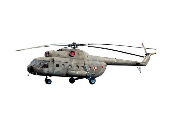Old soviet helicopter from pol: Mil Mi-8 (Russian Ми-8, NATO reporting name