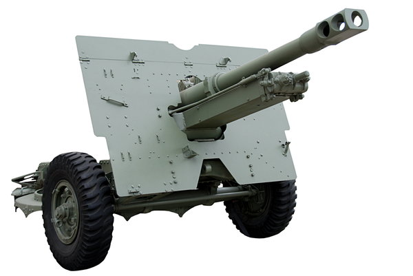 British field gun Mark 2 (25 p: 25 pounds (87,6 mm) british field gun Mark 2 from World War II