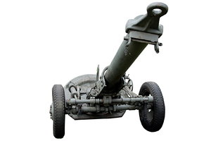 Soviet heavy mortar: Soviet 160 mm heavy mortar model 1943.
