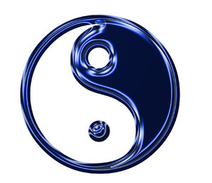 Yin Yang symbol 4: Chinese sign of balance