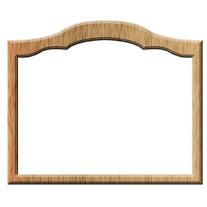 Photo frame - square 1: Frame for shot or painting