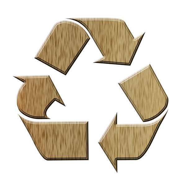 Recycling pictogram 1: Sign of ecological action