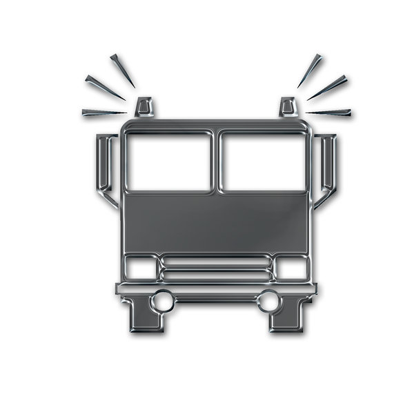 Firefighters pictogram 5: Fire truck icon