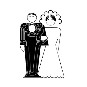 newly-weds pictogram 5