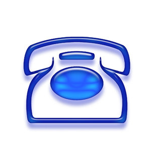 Telephone icon 4: Phone pictogram