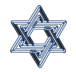 Star of David  3: The Star of David or Shield of David (Magen David in Hebrew) is a generally recognized symbol of Jewish identity and Judaism