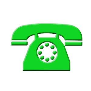 Telephone icon 8: Phone pictogram