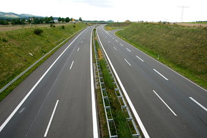 Expressway in Germany 1: Road near Blankenburg