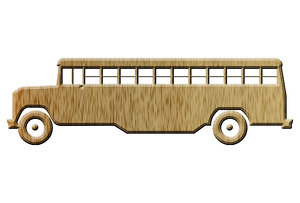 School bus pictogram 6