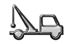 Service car pictogram 3: The Automobile Association car icon