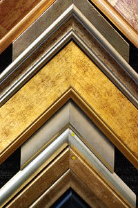 Detail of frames - texture 1