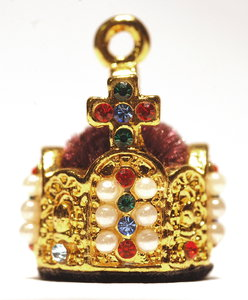 Golden crown of german kings 1: Pendent - copy of  german kings crown