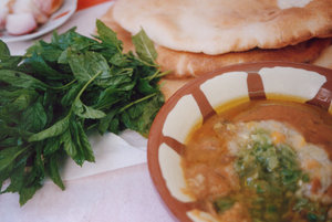 Mmm Foul...: This is the Middle Eastern dish known as foul (pronounced fool) - this is from a Downtown cafe in Amman